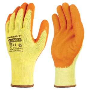 Cotton/Crinkle Latex Grip Glove